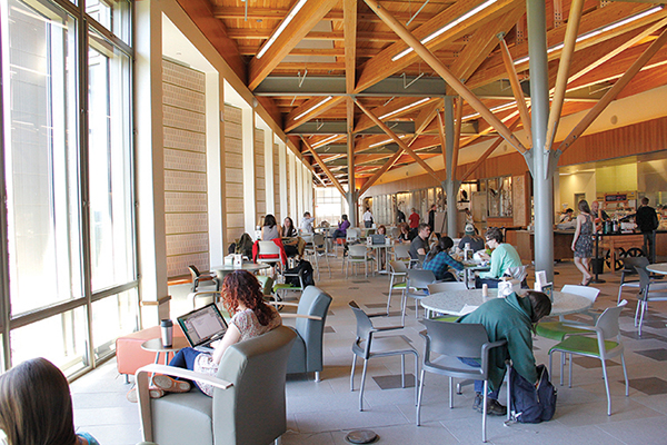 SUNY ESF Gateway Center - inside