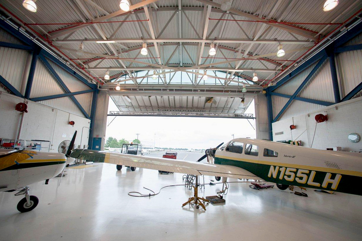 SUNY Farmingdale State College Airplane Hangar