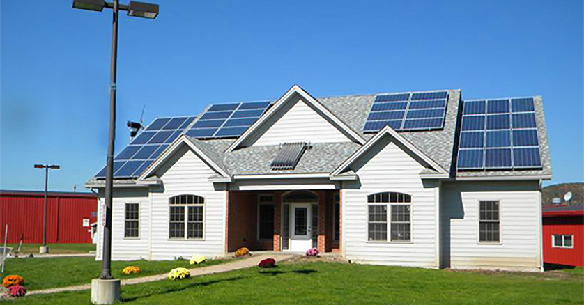 Alfred State Zero Energy Home