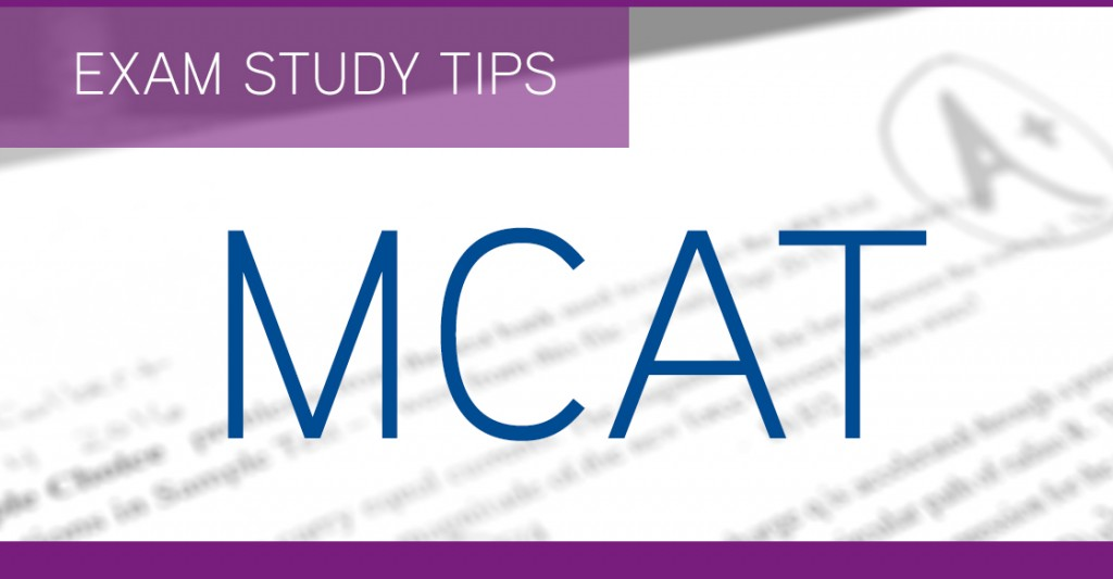 How to study for MCAT