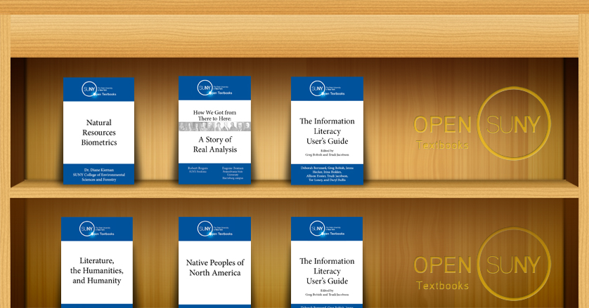 Open SUNY Textbooks on booksehlf