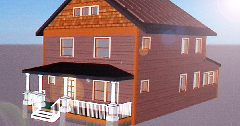 Syracuse University, SUNY Students Design Home with $2/mo Utility Bill