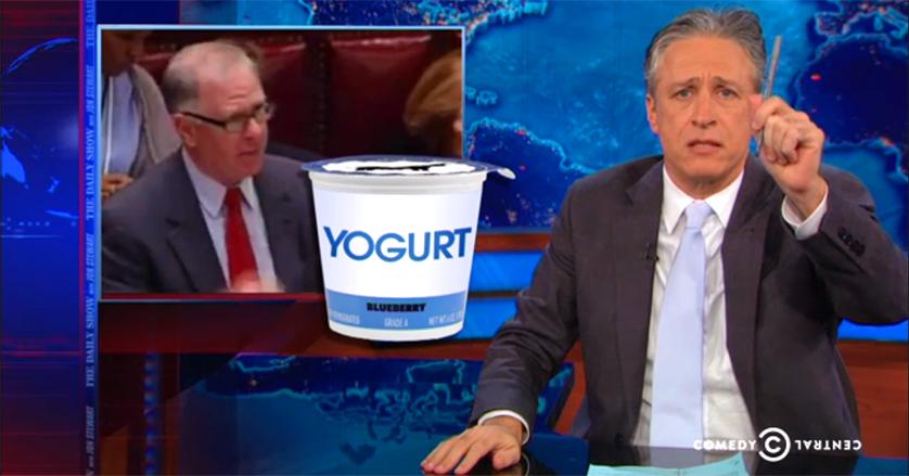 Comedy Central Yogurt