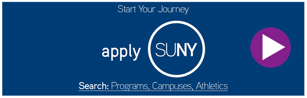 Start your journey. Apply SUNY.