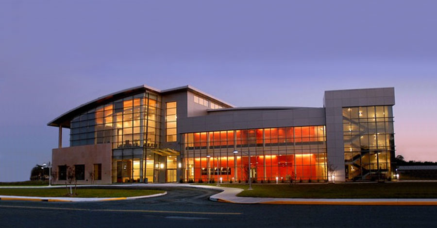 Brookhaven National Lab, exterior of The Center for Functional Nanomaterials (CFN)
