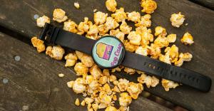 PopCasa popcorn on a table.