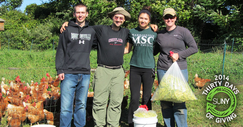 30 Days of Giving 2014: Farm Harvest at Morrisville