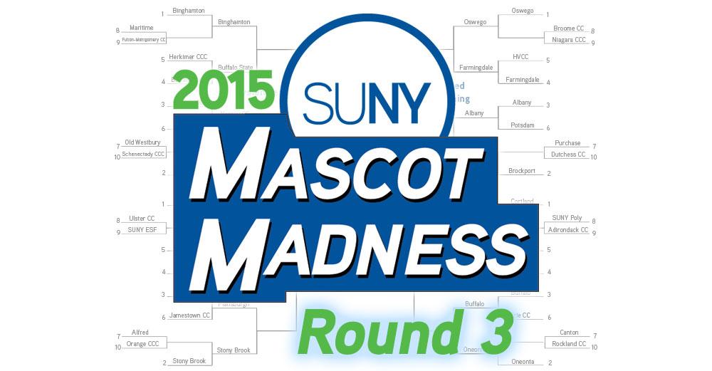 2015 Mascot Madness round 3