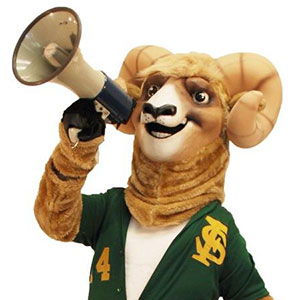 Rambo the Ram from Farmingdale State College