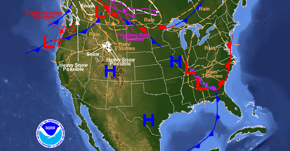 New York Weather Map How Do We Prepare For and Learn About the Weather? | Big Ideas Blog