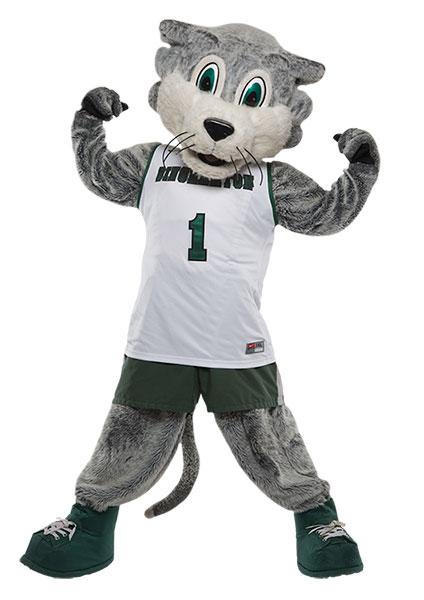 Baxter Bearcat from Binghamton University