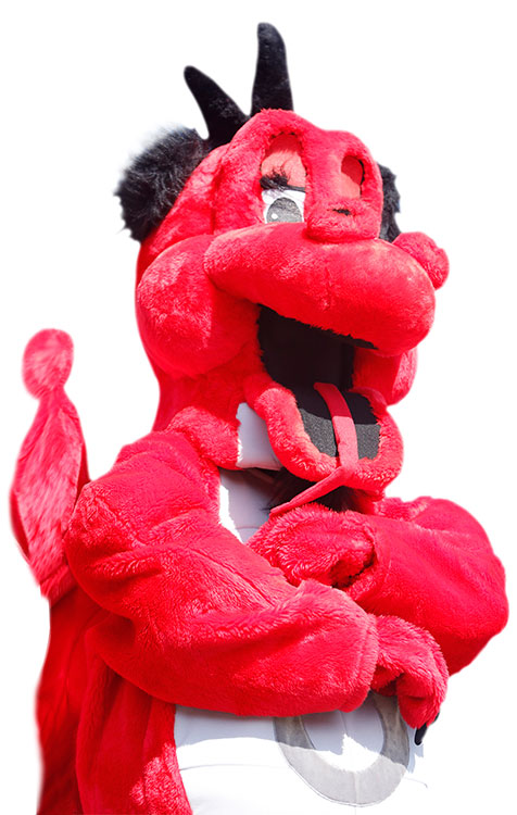 Red the Dragon from SUNY Oneonta
