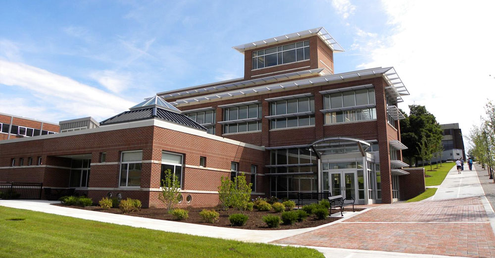 SUNY Cortland student life center building.