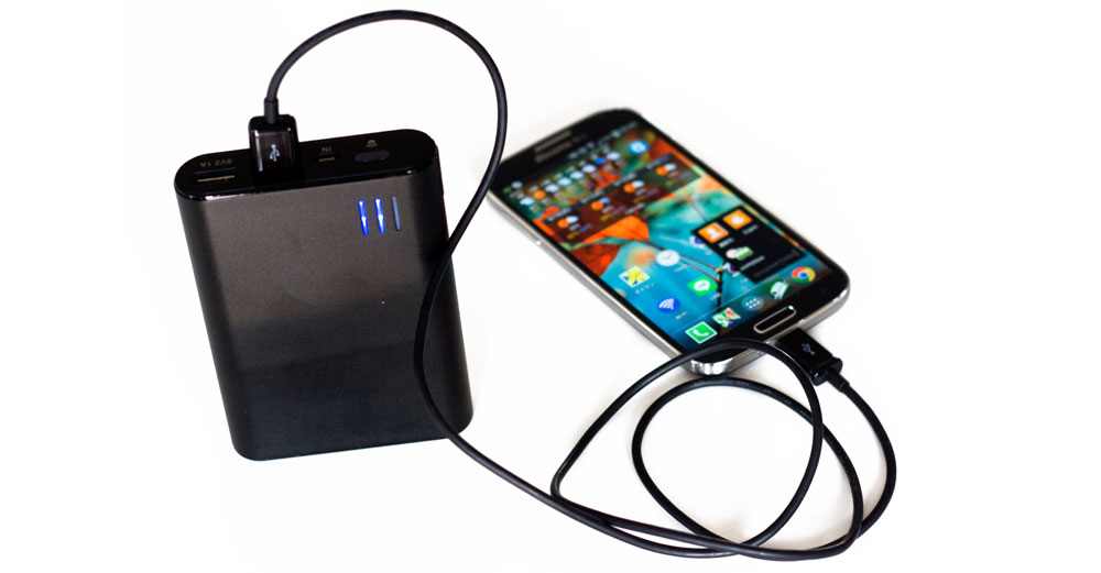 Cell phone charger