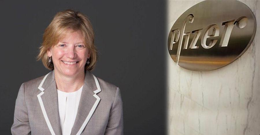 Lauri Olson, Stony Brook University alum and Pfizer executive