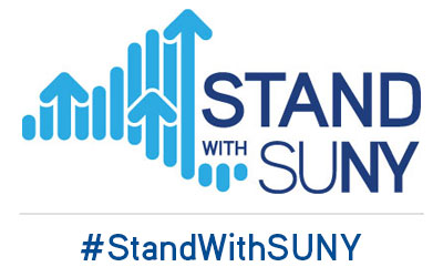 Stand With SUNY logo