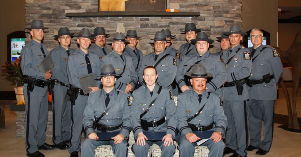 University Police 2015 SUNY Chiefs Association award winners