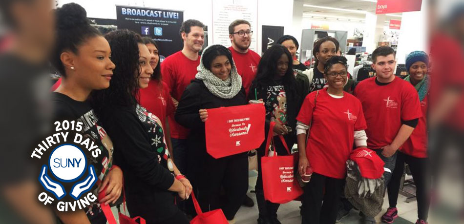Old Westbury students go Shopping for Service