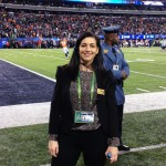 From Classroom to the Big Game, This Alum is Living Her Dream