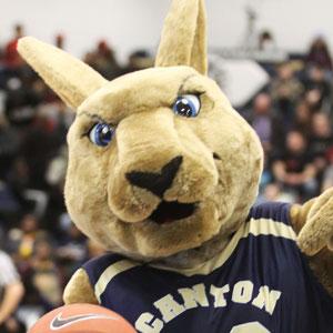 Roody Kangaroo, SUNY Canton mascot