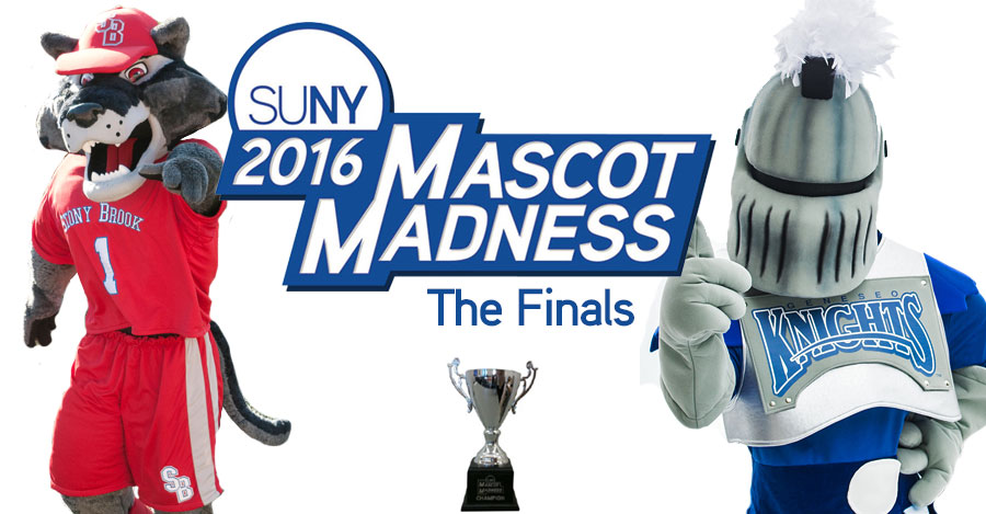 Mascot Madness finals - Stony Brook vs Geneseo