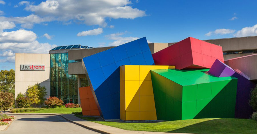 Strong Museum of Play exterior