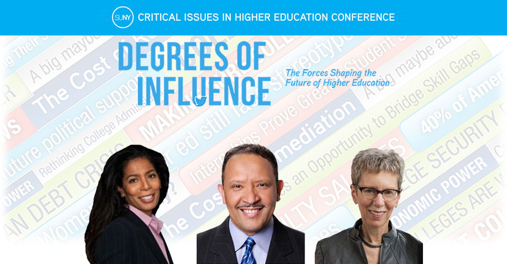 SUNYCON 2016 keynote speakers Judy Smith, Marc Morial, Terry Gross