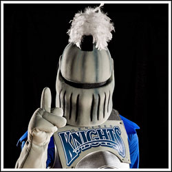 Geneseo mascot Victor E. Knight