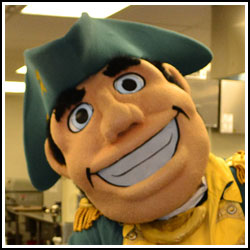 Herkimer County Community College mascot General Herkimer