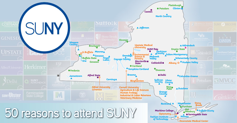 50 Reasons to Attend SUNY
