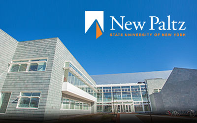 New science hall building at SUNY New Paltz