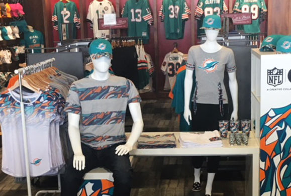 The NFL Shop is Going Fashion Forward With Students Leading the Way