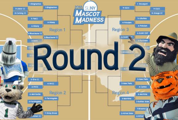 Mascot Madness 2018 – Round 2