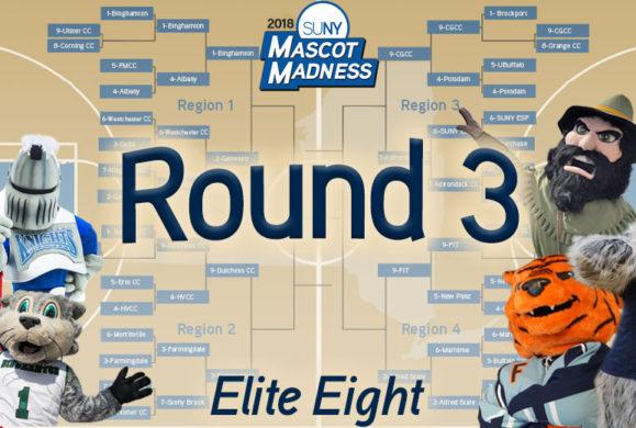 Mascot Madness 2018 – Round 3