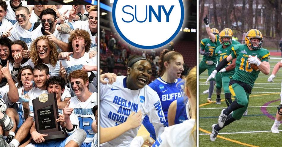 Various SUNY athletic teams