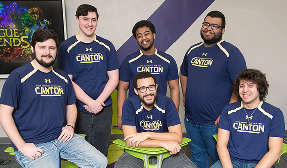 SUNY Canton League of Legends Team