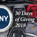 The Season is Upon Us With the 2018 30 Days of Giving