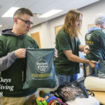 30 Days of Giving 2018 – Day 27: HVCC Students Pack Good Night Bags for Families in Crisis