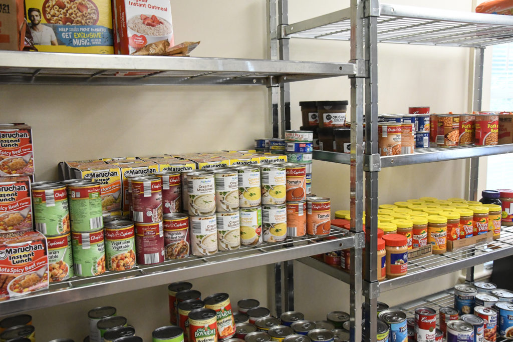 Clinton Community College Eagle's Nest Food Pantry
