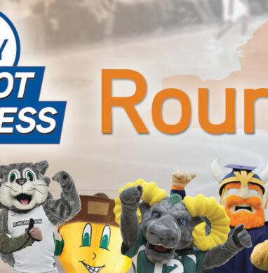 Mascot Madness 2019 round 1 header