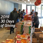 A Strong Commitment to Community Service – 30 Days of Giving 2019