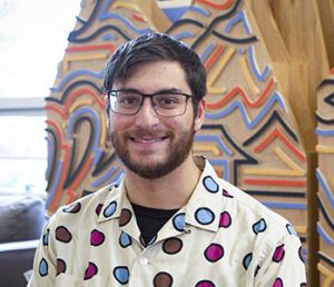SUNY Binghamton student Ben Levine