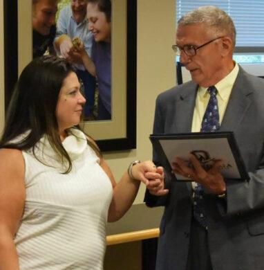 Dawn Penson sworn in at Onondaga Community College