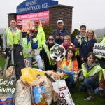 30 Days of Giving 2019, Day 9: Common Hour Street Clean-Up at Genesee Community College