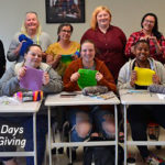 30 Days of Giving 2019, Day 14: SUNY Schenectady Volunteers Knit Blankets for Children
