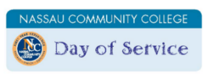 Nassau Community College Days of Service button