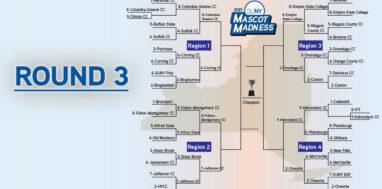 SUNY Mascot Madness round 3 header