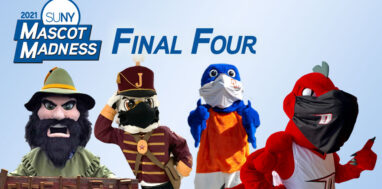 SUNY Mascot Madness 2021 final four contestants