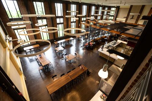 Suny Geneseo Red Jacket Dining Complex
